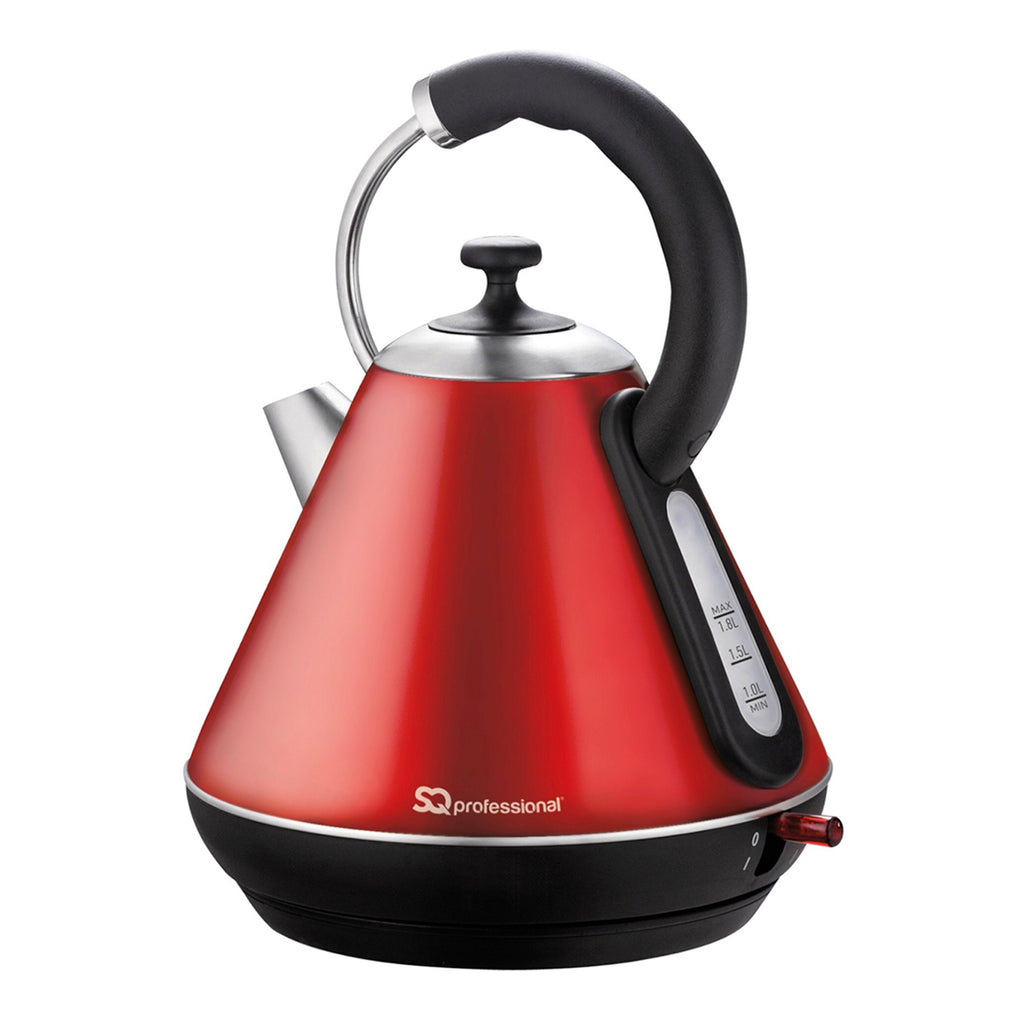 Legacy Cordless Electric Kettle, Fast Boil, 2200 W 1.8 L - Ruby Red