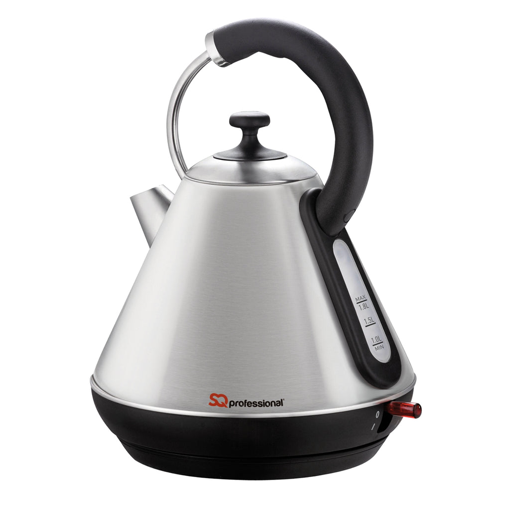 Legacy Cordless Electric Kettle, Fast Boil, 2200 W 1.8 L - Quartz Silver
