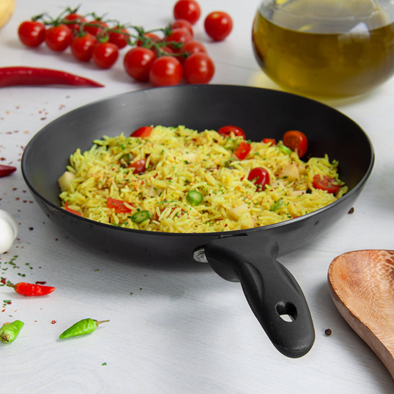 Hard Anodised Non-stick Frying Pan - 24cm