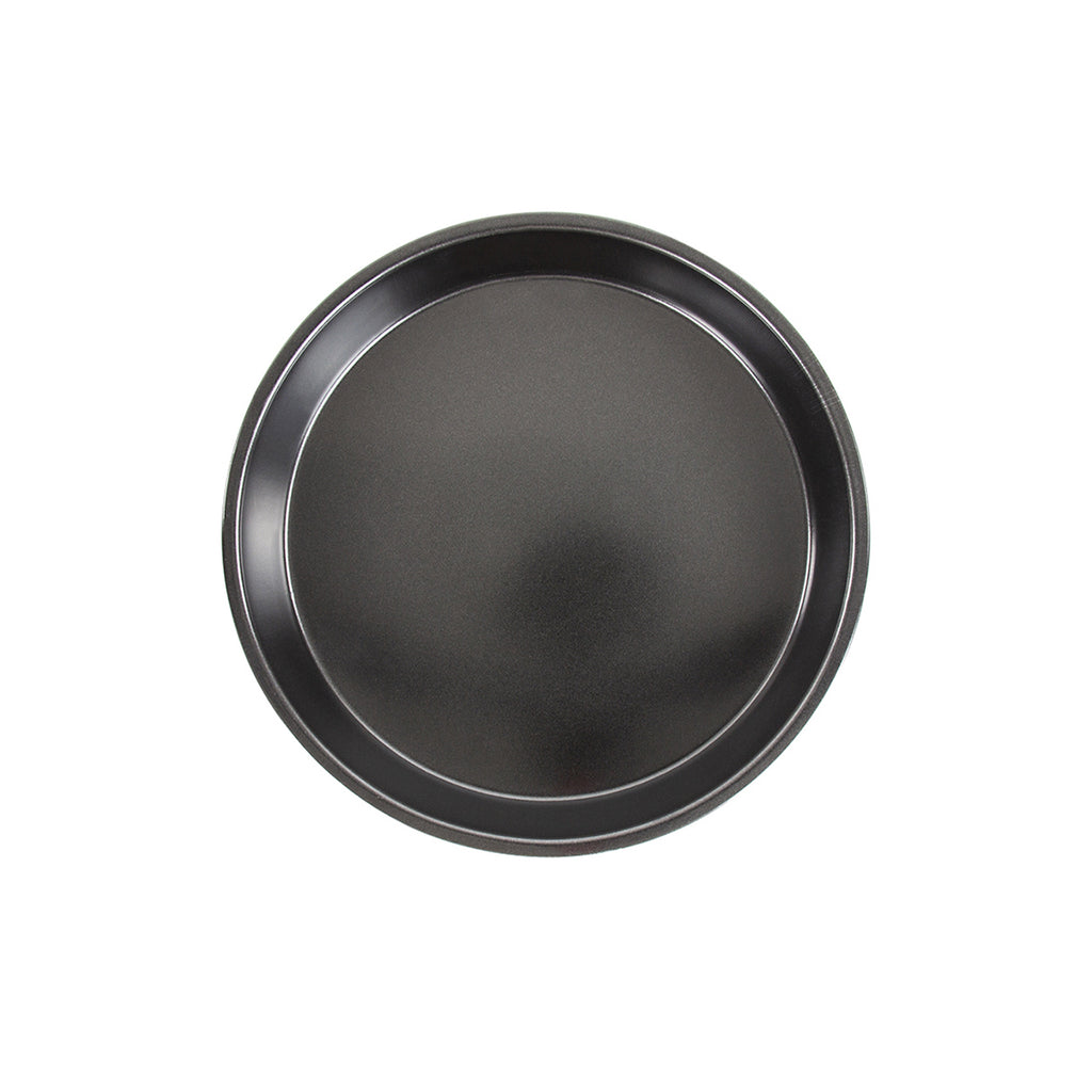 Non-stick Pizza Pan, Round Baking Tray - 21.5 cm, Black