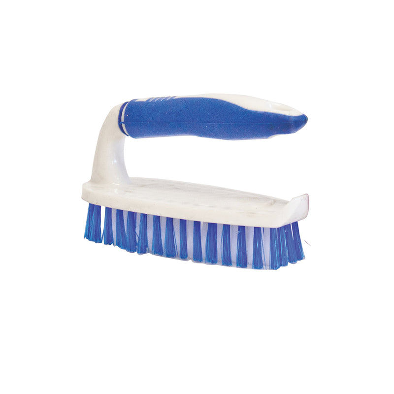 Classic Hand Cleaning Brush Plastic Scrubbing Brush - Pack of 2
