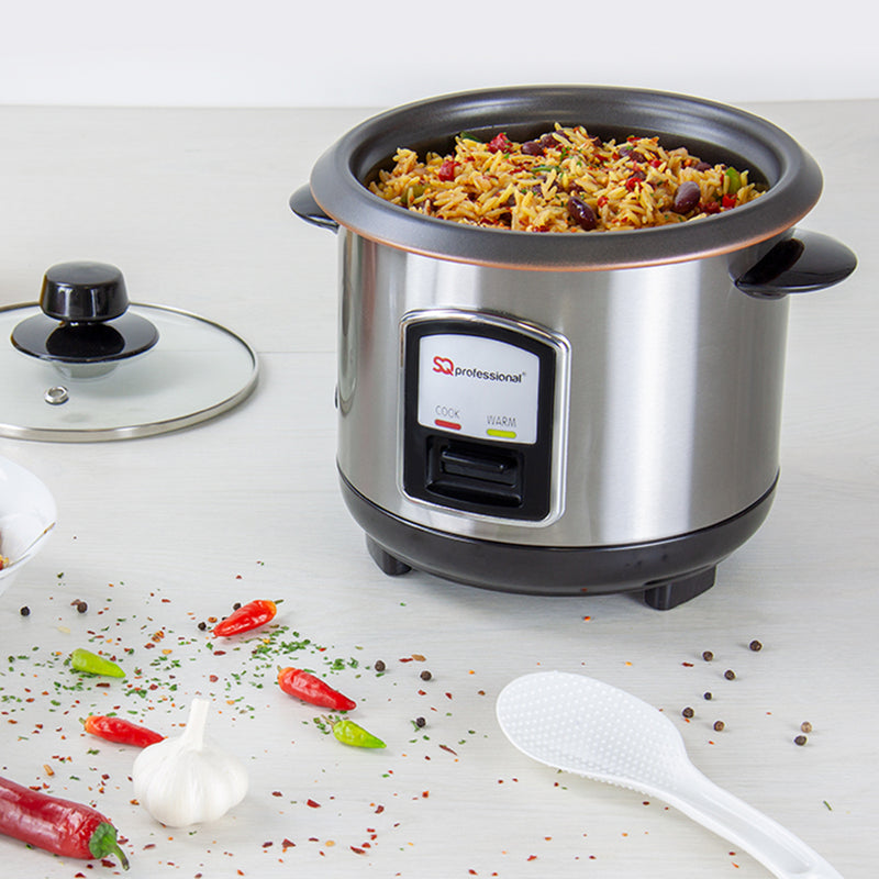 SQ Pro Stainless Steel Rice Cooker - 0.8 L