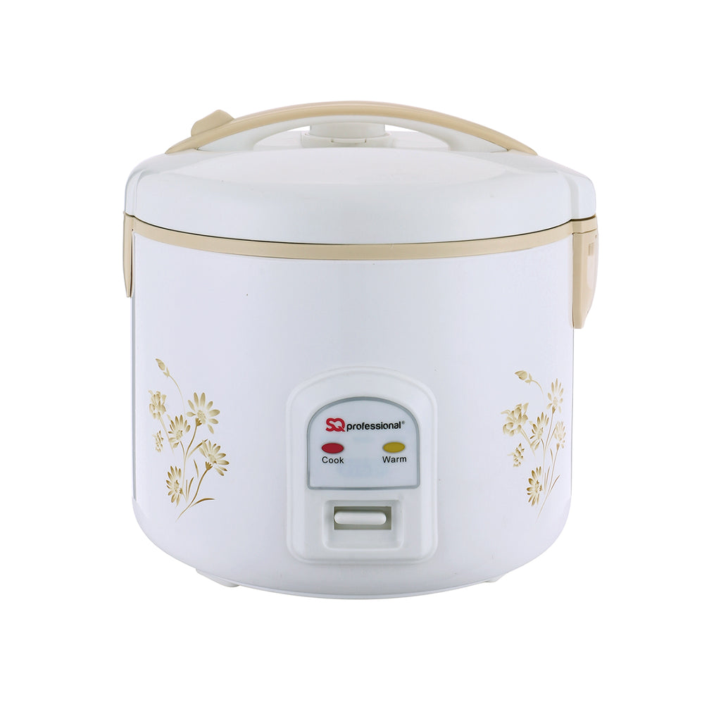 SQ Pro Deluxe Electric Rice Cooker & Steamer - 1.8 L
