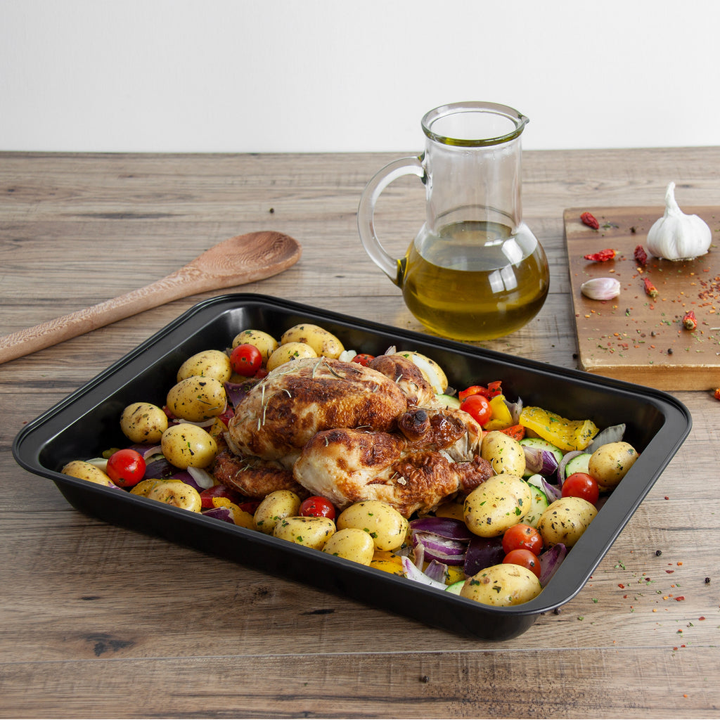 Non-stick Baking/Roasting Tray, Carbon Steel - 37.5 cm