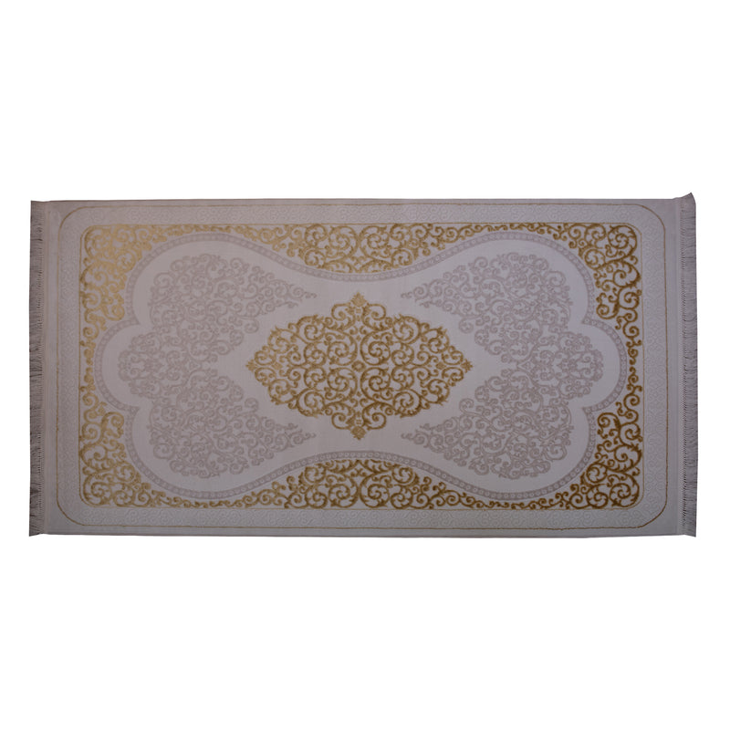 Cairo Gold Polypropylene Rug - 150 x 230cm, Thickness 15mm