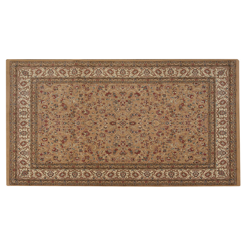 Mika Million Camel Cream Polypropylene Heatset Rug - 120 x 170cm, Thickness 15mm