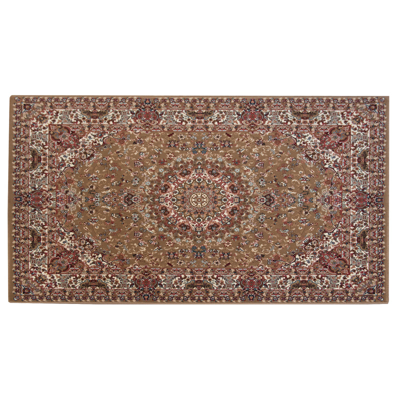 Mika Million Persion Style Brown Polypropylene Rug - 120 x 170cm, Thickness 15mm