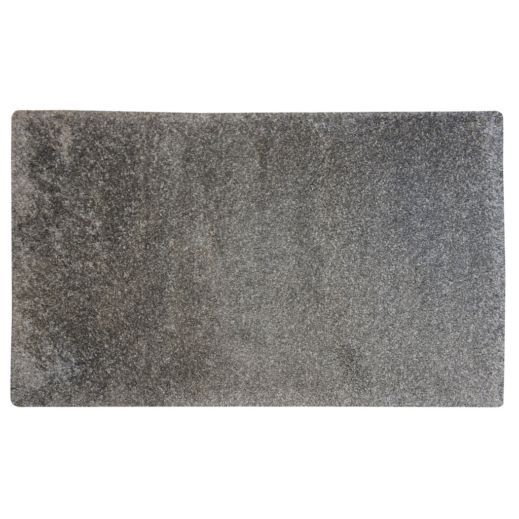 Mika Magic Grey Polyester Rug - 120 x 170cm, Pile Height 40mm