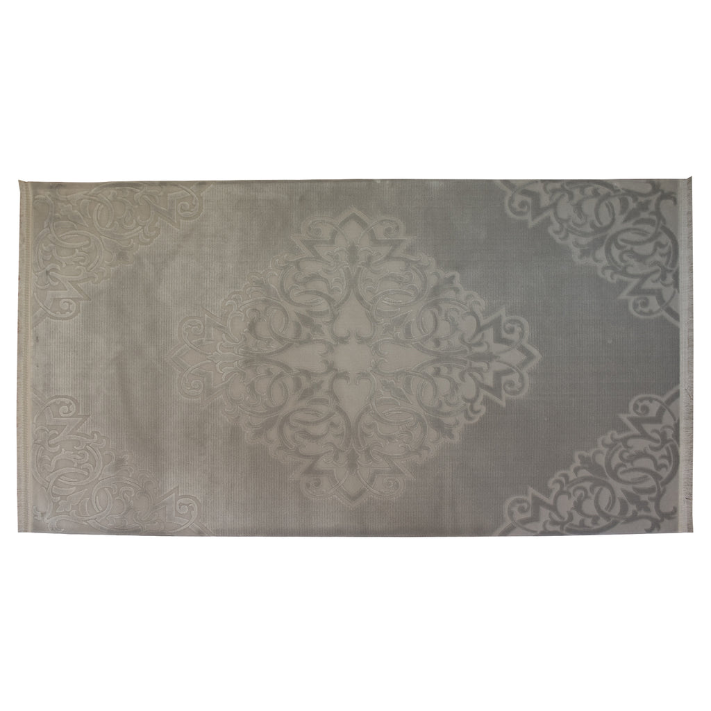 Atlantic Nuance Grey 80% Acrylic / 20% Polyester Rug - 200x300cm, Thickness 20mm