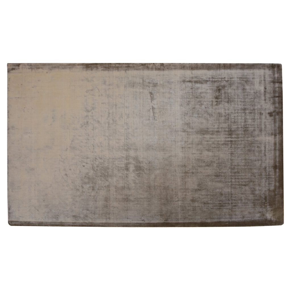 Miika Glam Warm Sand Viscose Rug - 160 x 230cm, Thickness 13mm