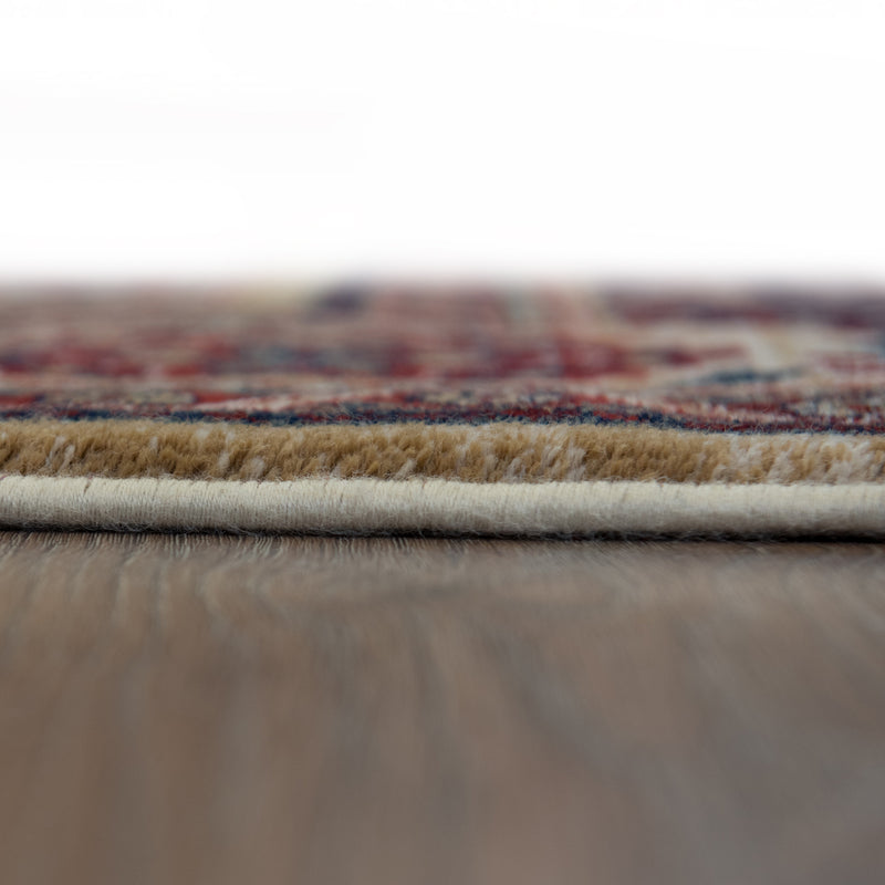 Sea Hair Red Pattern Wool Rug - 160 x 235cm, Thickness 20mm