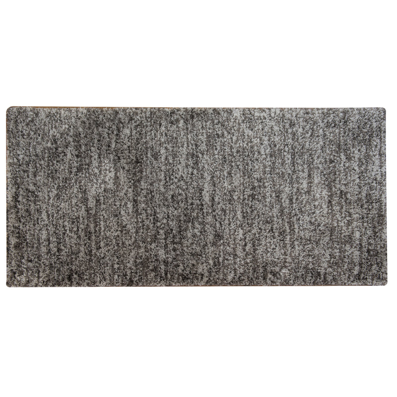 Magic Light Grey Polyester Rug - 80 x 150cm, Pile Height 25mm