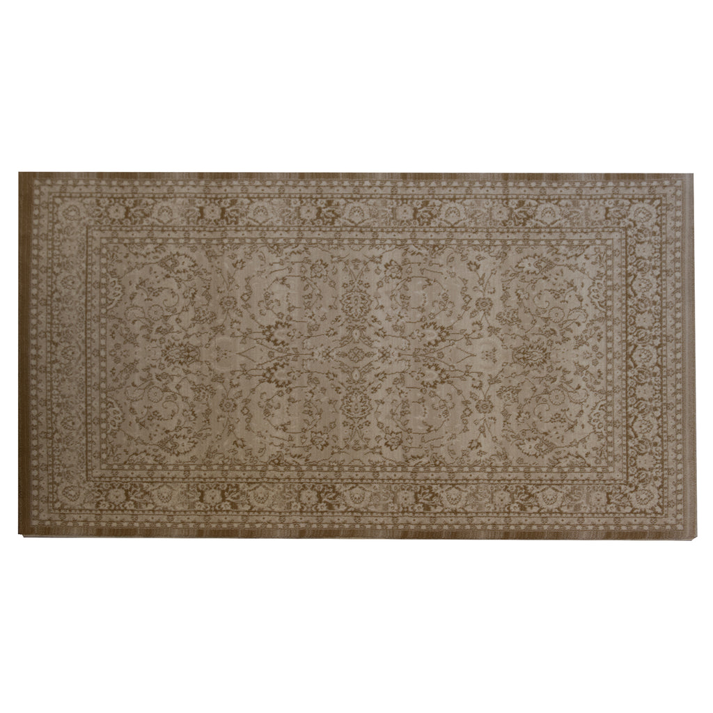 Camel Sand Light Beige Wool Rug - 160 x 235cm, Thickness 18mm