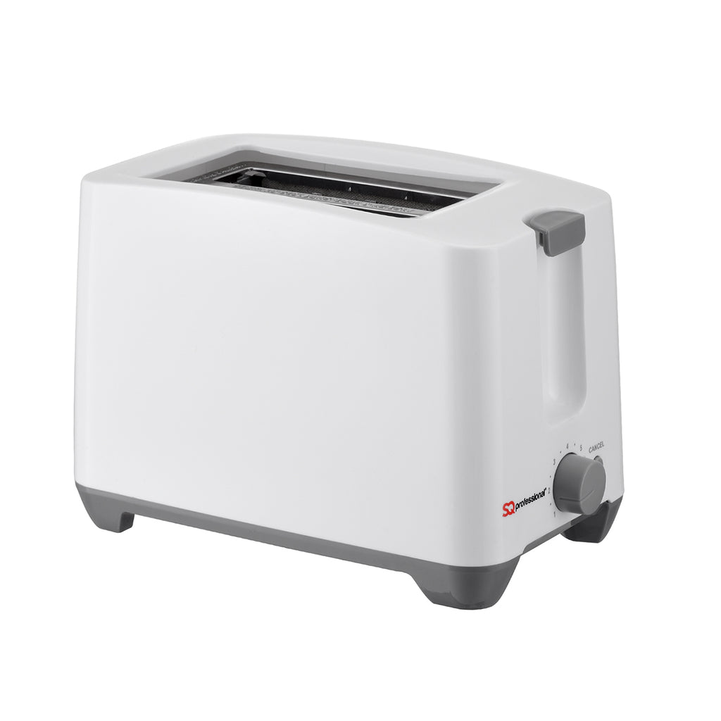 Two Slice Toaster with Cancel Function & Browning Control, 750W, Plastic - White
