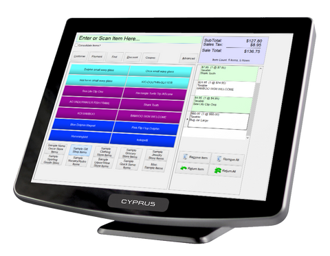 "Cyprus all-In-One 15"" Resistive Touch Screen"