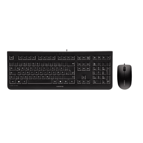 Cherry DC2000 Corded USB Keyboard and Mouse Combo
