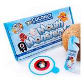 MouthMonsters Kids Coconut Therapy Mouthwash - 6 x Boxes of MouthMonsters - NEW!