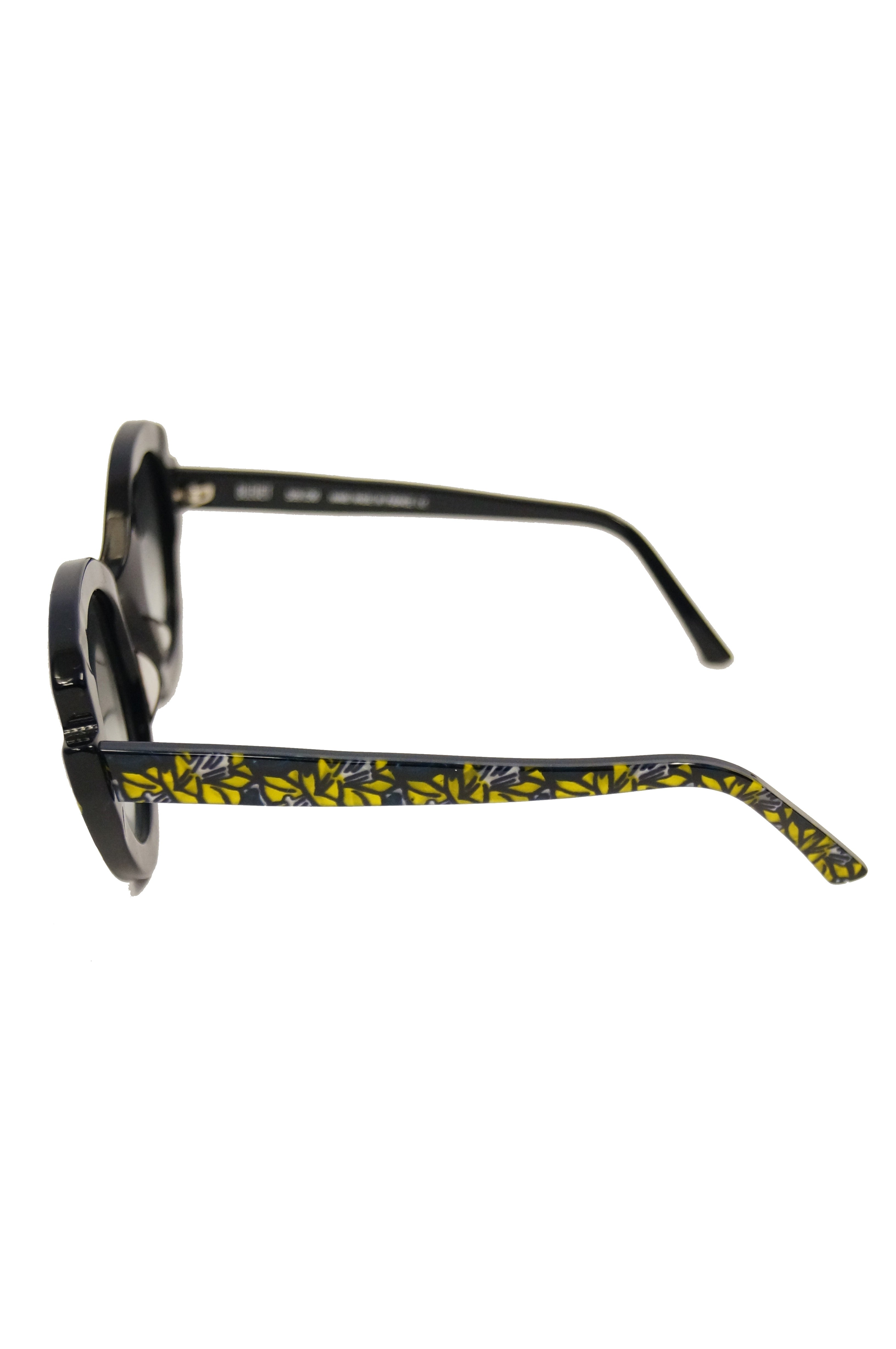 """309213d8c45 Francis Klein """"Bleuet"""" Handmade and Handpainted Sunglasses Made In France"""