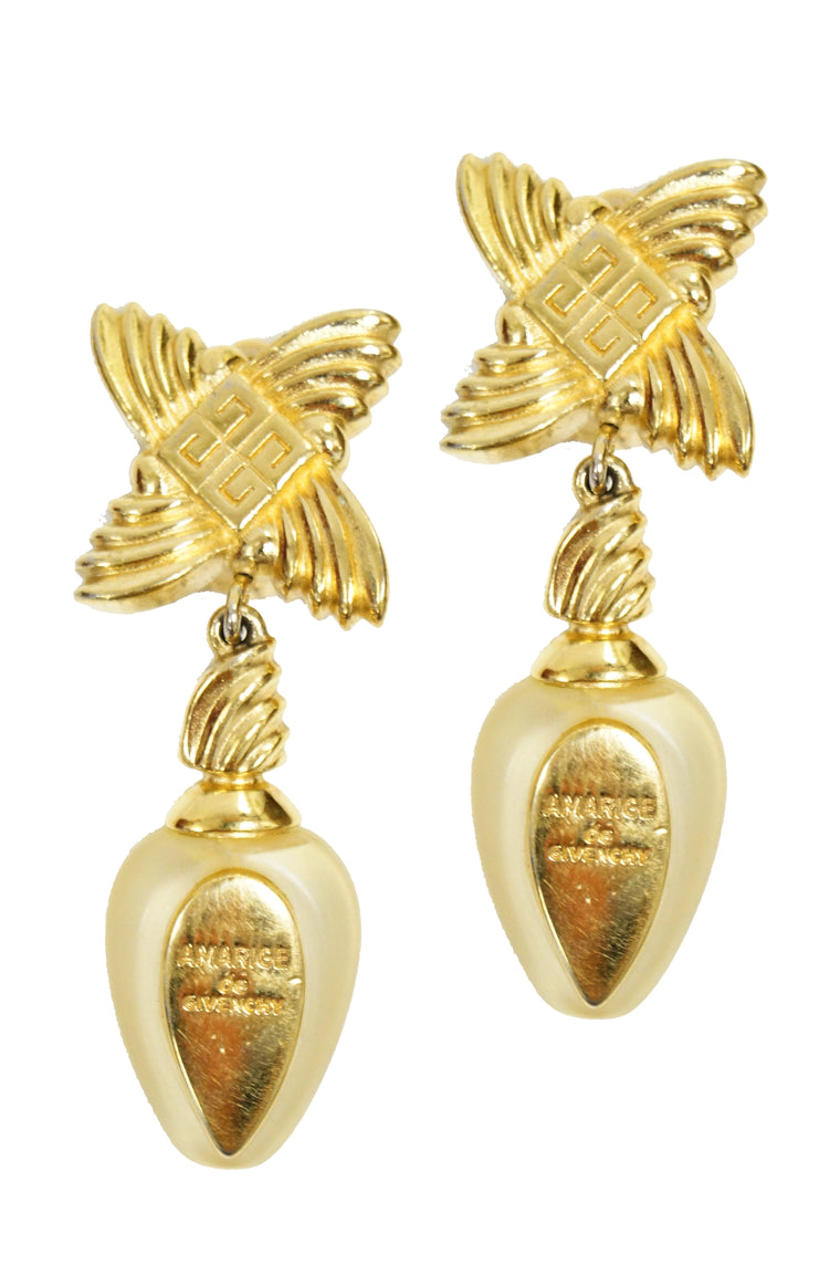 1980s Amarige de Givenchy Earrings