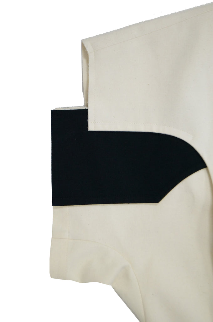 2014 Comme des Garçons Black and White Flat Pack Runway Dress