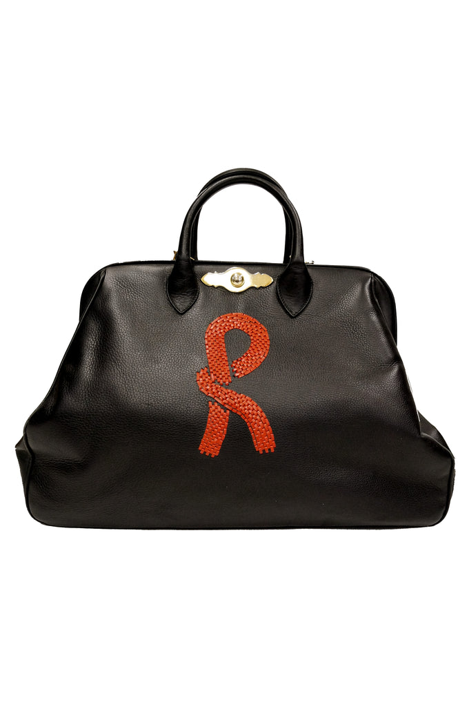 7 images Roberta di Camerino Black Leather Doctor Bag