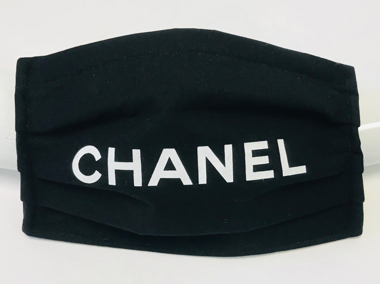 Chanel Black Mask