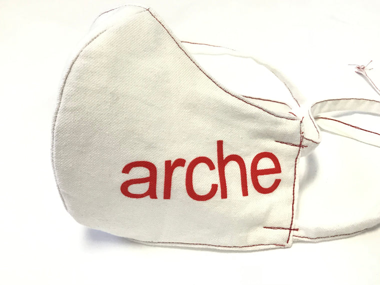 Arche Cotton Mask with Adjustable Ties