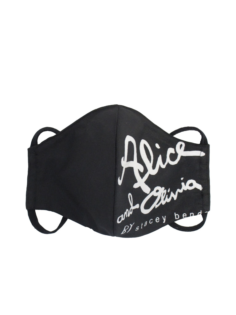 Alice and Olivia Black Mask