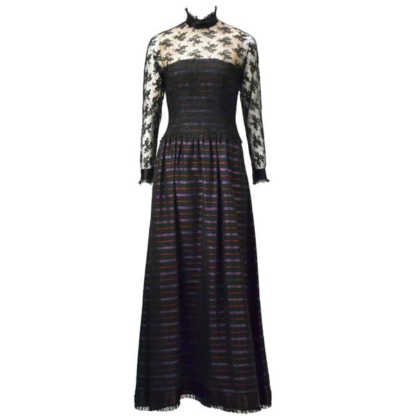 1970s Jerry Silverman Evening Gown - MRS Couture
