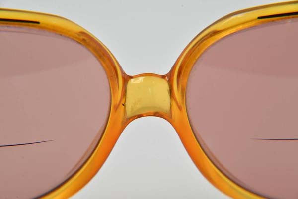 2793c44d0188 1970s Christian Dior RX Round Honey Frames Number 2035 - MRS Couture
