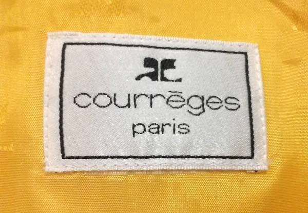 1980s Courreges Yellow Dress and Cropped Jacket Ensemble