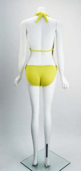 1960s Tom Brigance for Sinclair Yellow Monokini