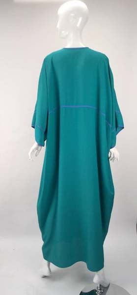 1970s Bill Tice Asian Inspired Kaftan