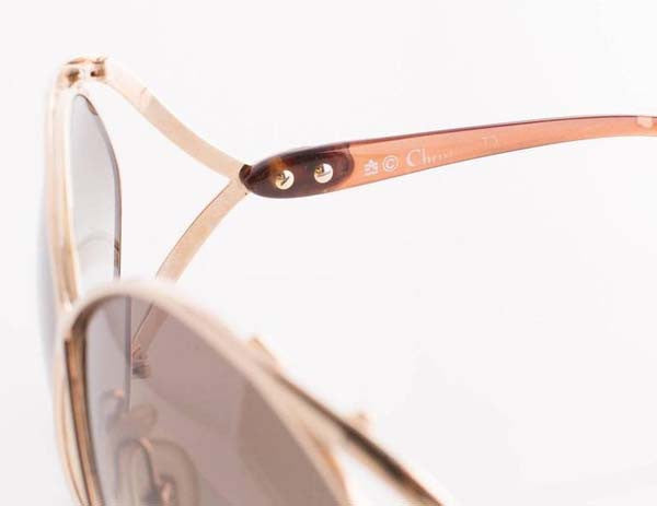 a7b48b1f4d8ca 1980s Christian Dior Metal Butterfly Sunglasses - MRS Couture