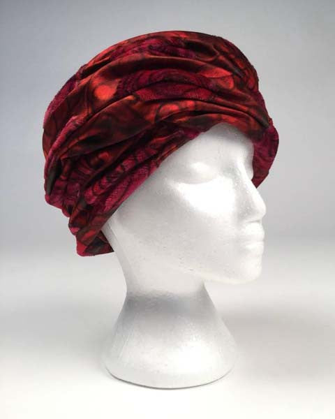 1960s Christian Dior Red Rose Chapeaux