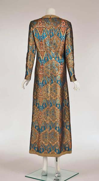 1960s Exotic Metallic Caftan