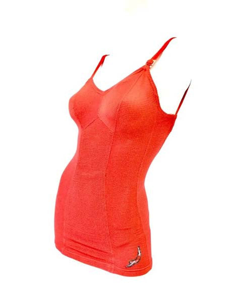 1930s Jantzen Red One Piece Swimsuit