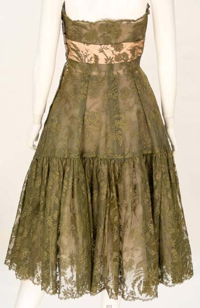 1950s Lanvin Lace Dress