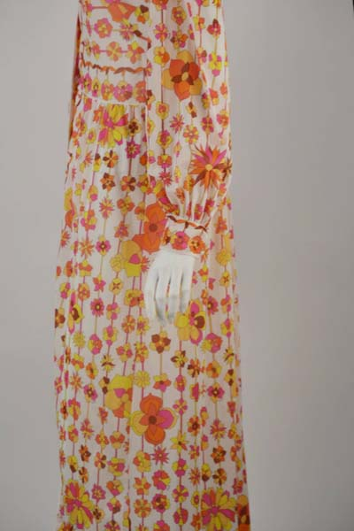 1960s Emilio Pucci for Formfit Rodgers Lounge Dress