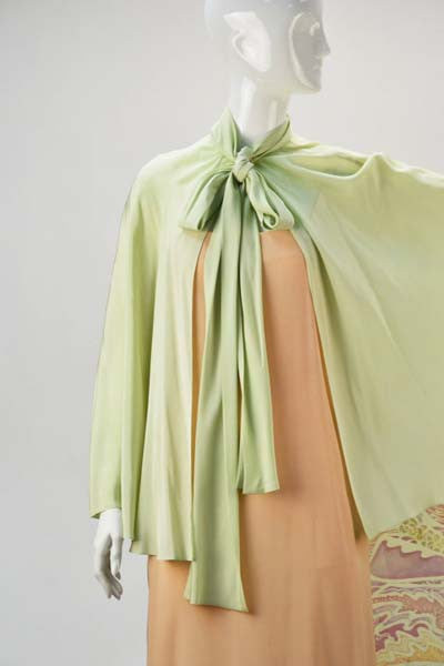1970s Bill Blass Two Piece Silk Evening Ensemble