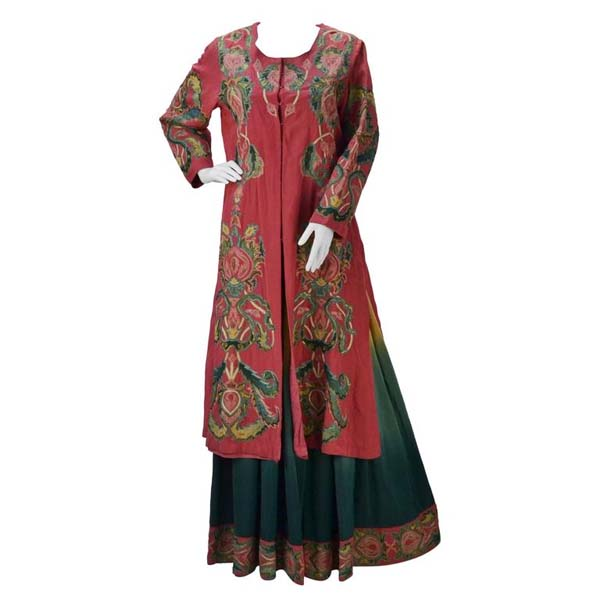 Ashima & Leena Singh Three Piece Silk Indian Ensemble