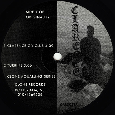 Clarence G - Hyperspace Soundlab EP (Clone Auqalung)