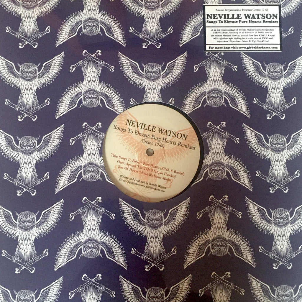 Neville Watson - Songs To Elevate Remixes (Creme 12-66) ~ Limited Repress