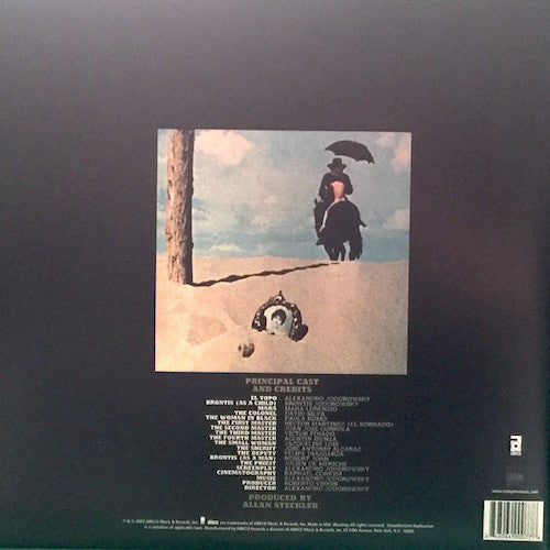 Alexandro Jodorowsky ‎– El Topo OST (Real Gone Music ‎0077)