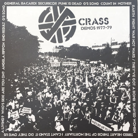 Crass ‎– Demos 1977-79 (CRASS001, 2007)