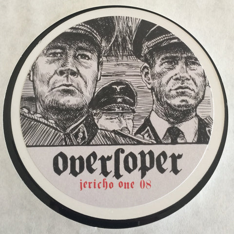 Overloper - Overloper (Jericho One 08) Limited Edition 100, mailorder only