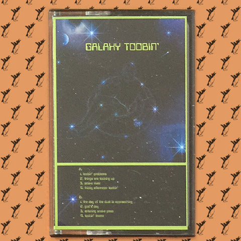 Galaxy Toobin' ‎– Galaxy Toobin' Cassette (Creme LP-07, Not Not Fun Records ‎249)