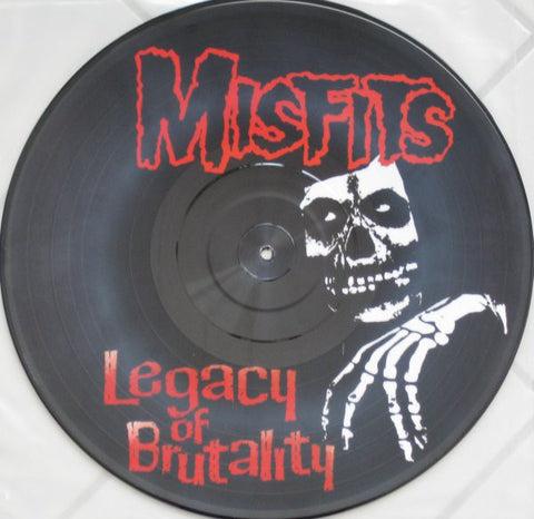 Misfits ‎– Legacy Of Brutality LP (Picture Disc)
