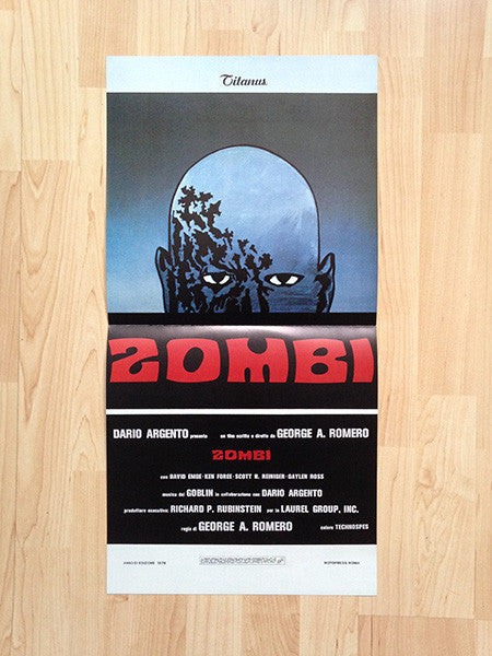 Goblin ‎– Dawn Of The Dead (Zombi) LP OST (Dagored 117-1)