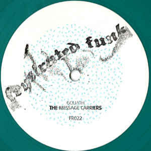Goliath ‎– The Message Carriers (Green Vinyl) (Frustrated Funk 022)